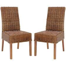 safavieh sanibel light brown mango wood side chair set of 2