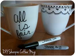 Crazy Cool Mugs Diy Sharpie Mug The Yarn To Tell