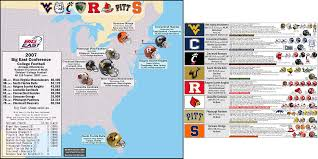 Map Of Boston College Quick N Easy Guide To College Football Archive Nfl Uk Forums