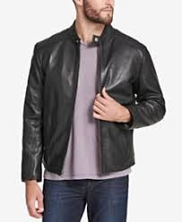 Leather Barn Coat Men U0027s Leather Jackets U0026 Men U0027s Leather Coats Macy U0027s