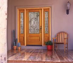 dictate your house style with fascinating exterior wood door