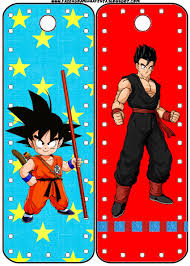 dragon ball free party printables parties