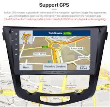 nissan qashqai map update 10 2 inch android 6 0 radio for 2014 2015 nissan qashqai x trail