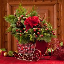 Outdoor Christmas Decorations At Costco by Costco Metal Sleigh Centerpiece Fresh Evergreen Garland