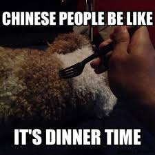 be like it s dinner time