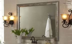diy bathroom mirror frame ideas diy bathroom mirror frame ideas interior design ideas presented to