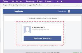 buat akun google facebook cara membuat akun facebook fb baru dengan mudah
