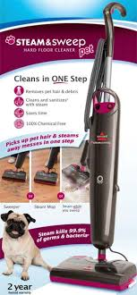 steam mops bissell steam sweep pet floor cleaner 46b43