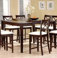 Bar Height Dining Room Table Sets Bar Height Kitchen Table Walnut Counter Height Dining Chair