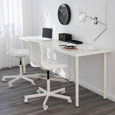 Plastic Office Desk Contemporary Rectangle White Metal White Computer Desk Chrome Cool