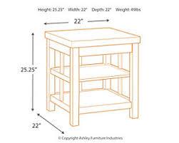 ashley gavelston end table gavelston end table ashley furniture homestore