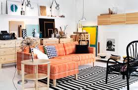 ikea orange couch black furniture with stripes rug ikea