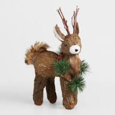 White Stag Christmas Decorations by Christmas And Holiday Decor World Market