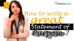 how to write a statement of objectives writing a statement of purpose samples tips resources and help writing a statement of purpose samples tips resources and help