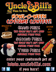 howl o ween pet costume contest