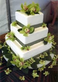 Square Wedding Cakes Summer Wedding Idea Modern Square Wedding Cakes
