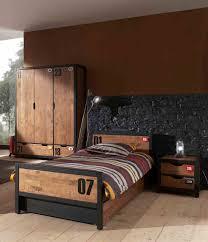 chambre pin massif chambre de jeunes haute gamma alex 4 éléments en pin massif teinté