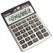 calculatrice bureau calculatrice de bureau canon ls 120tsg 12 chiffres calculatrices