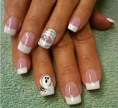 halloween nail art french nail art designs together with