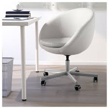 Comfortable Chairs To Use At Computer Skruvsta Swivel Chair Idhult White Ikea