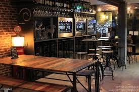 Deco Loft Industriel by Un Bar à Vins D U0026 039 Inspiration Loft Industriel Edwige Clergeaud