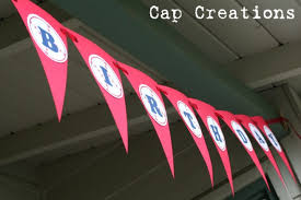diy happy birthday baseball banner printable cap creations