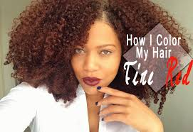 ginger hair color at home how i color my natural hair at home naturtint fire red hair dye