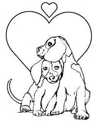 easy preschool printable puppy coloring pages r38yz