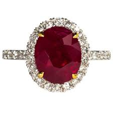 ruby red rings images Gia certified five carat vivid red pigeon 39 s blood burma ruby and jpg