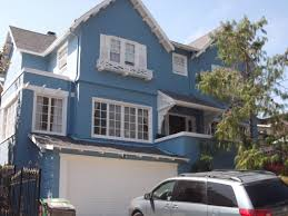 Blue Gray House Color by Indian House Colors Outside