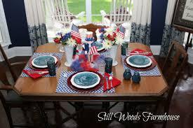 still woods farmhouse yankee doodle dandy table decor