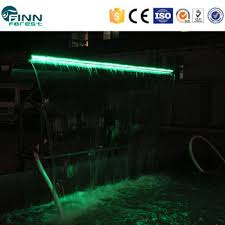 led rgb light color can change artificial waterfalls buy