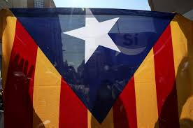 Estelada Flag Spooked By Catalonia Eu Rallies Behind Madrid But Warily
