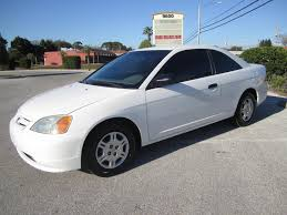 honda civic 2001 coupe sold 2001 honda civic lx coupe meticulous motors inc florida for