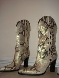 womens cowboy boots size 9 larry mahan s cowboy boots hair on cowhide size 9 ebay