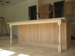 kitchen island legs unfinished mahogany wood unfinished windham door kitchen island with legs