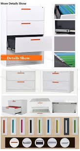 Lateral File Cabinets by China Office Furniture Filing Cabinet Integrated Full Width Flush