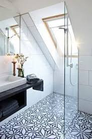 Bathroom Moroccan Porcelain Cast Iron Bathtub Sinks Shower Bench Shower With Blue Tiles Contemporary Bathroom Palmer Weiss