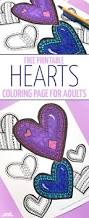 free printable hearts coloring page heart patterns free