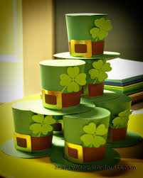 silhouette cameo st patrick u0027s day 3d hats a cart a week