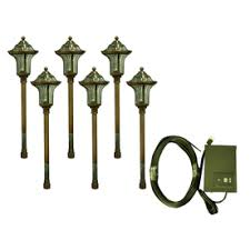 Portfolio Landscape Lighting Portfolio 6 Light Copper Low Voltage Path Light Landscape Light