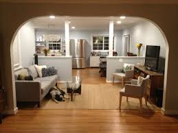 living room and kitchen color ideas vintage kitchen living room with wooden floor ideas attractive