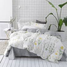 Green And White Duvet Online Get Cheap Green Yellow Bedding Aliexpress Com Alibaba Group