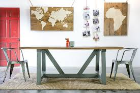wesport harvest table reclaimed wood farmhouse kitchen table sets