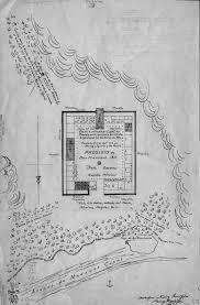 Presidio San Francisco Map by San Francisco Presidio 1820 Map