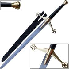 claymore scottish highlands claymore sword full tang 56in top swords