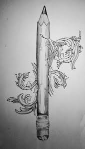 pencil tattoos designs and ideas page 3