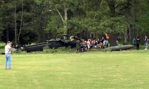 Wildfire Golf Club Ontario Canada by Army Helicopter Crashes Into Golf Course 1 Dead 2 Injured 680 News