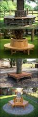 bench circular tree benches 47 stunning design on outdoor round