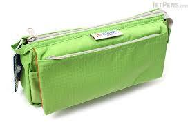 pencil cases nomadic pe 09 flap type pencil light green jetpens